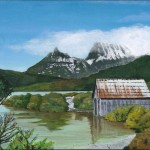 Cradle Mt Painting